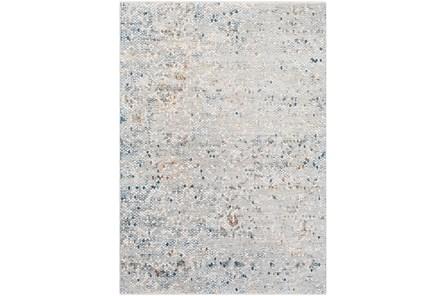 98X60 Rug-Slate & Copper Pebbles
