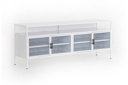 huge selection of 28446 c269a White TV Stands and TV Consoles to Fit Your Home Decor ...