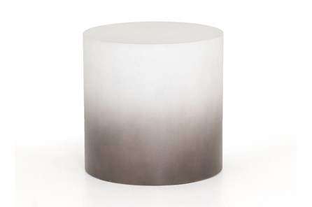 Slate Grey Ombre End Table