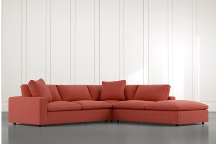 Utopia Red 3 Piece Sectional