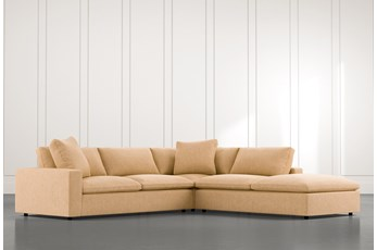 Utopia Yellow 3 Piece Sectional