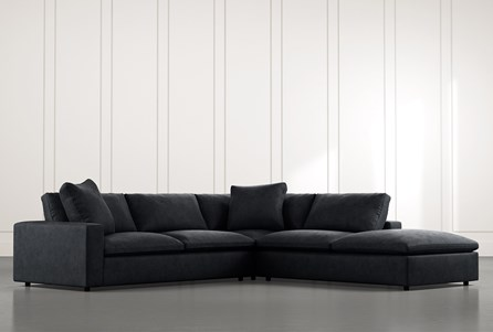 Utopia Black 3 Piece Sectional
