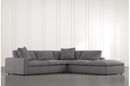 Utopia Dark Grey 3 Piece Sectional