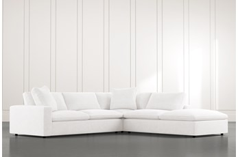 Utopia White 3 Piece Sectional