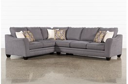 Mesa Foam II 2 Piece Sectional With Right Arm Facing Sofa
