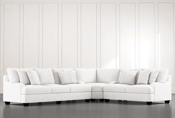 Sierra Foam III White 3 Piece Sectional