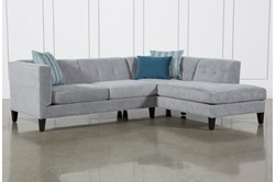 "Avery II 2 Piece 103"" Sectional With Right Facing Armless Chaise"