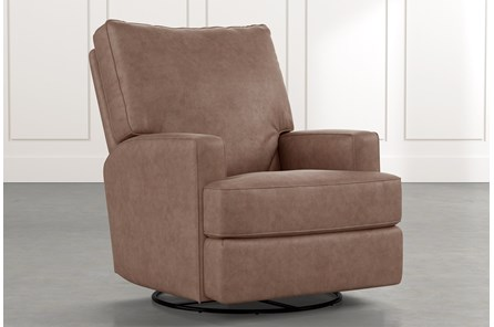 Becca Brown Swivel Glider Recliner