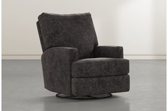Becca Midnight Swivel Glider Recliner