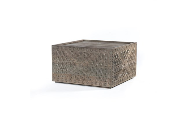 Aged Grey Bunching Table - 360