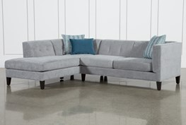 """Avery II 2 Piece 103"""" Sectional With Left Facing Armless Chaise"""