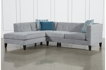 Avery II 2 Piece Sectional With Left Facing Armless Chaise