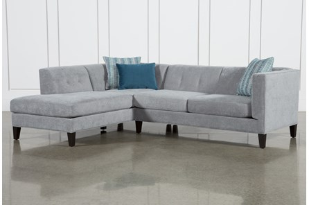 Avery II 2 Piece Sectional W/Laf Armless Chaise