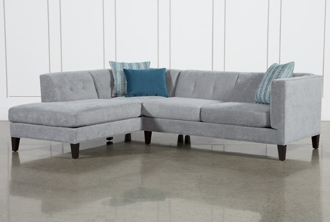 """Avery II 2 Piece 103"""" Sectional With Left Facing Armless Chaise - 360"""