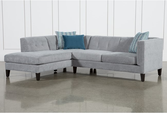 "Avery II 2 Piece 103"" Sectional With Left Facing Armless Chaise - 360"