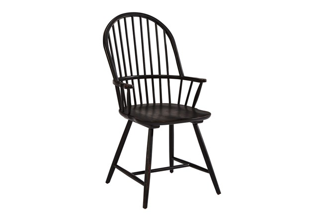 Magnolia Home Squires Dining Arm Chair By Joanna Gaines - 360