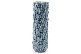 Blue Glazed Large Vase