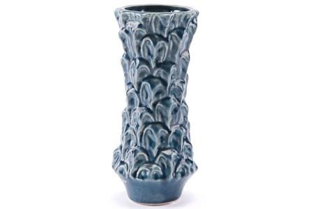 Blue Glazed Small Vase