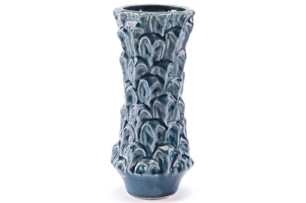 Blue Glazed Small Vase - Main
