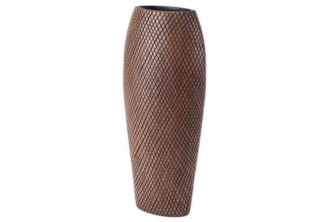 Black + Beige Checkered Large Bottle  - 360