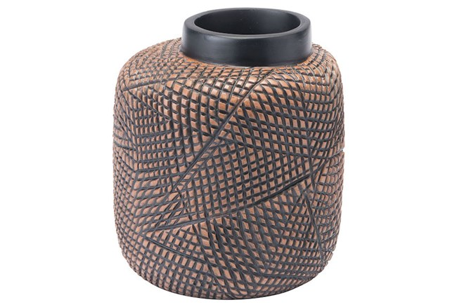 Small Cuadra Brown Vase  - 360