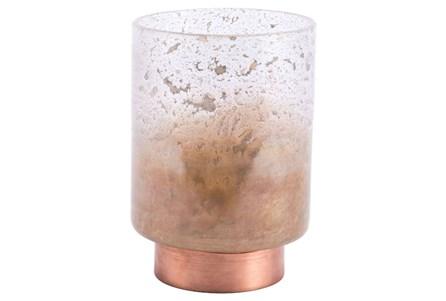 Small Translucent Copper Vase