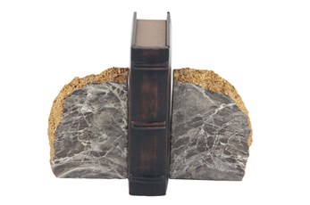Dark Marble Bookend