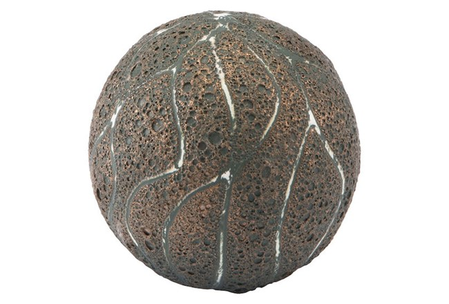 Brown + Green Lava Orb  - 360