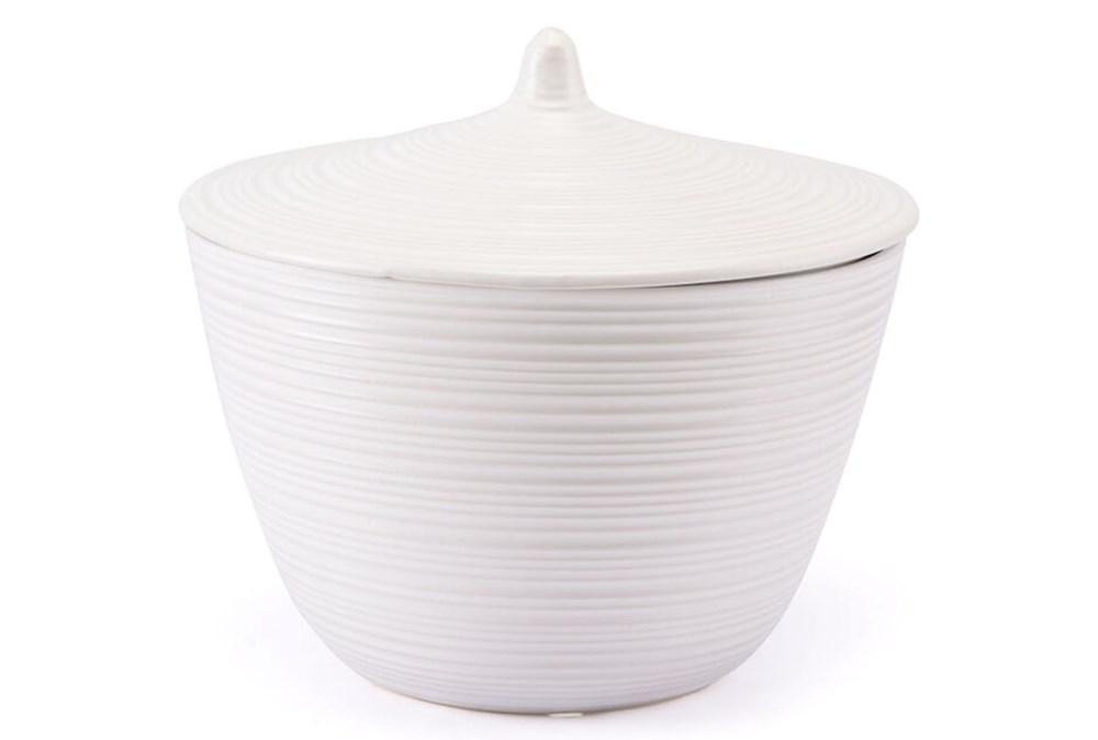Matte White Jar