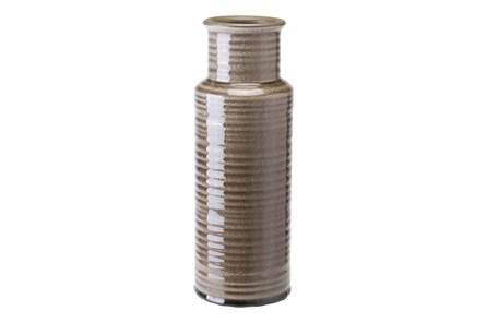 Grey Ribbed Bottle - Main