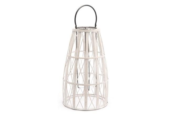 Outdoor Large White Web Lantern - 360