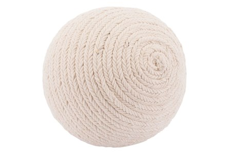 Tribal Rope White Ball