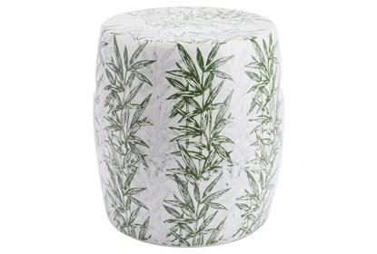 Excellent Palm Print Garden Stool Ncnpc Chair Design For Home Ncnpcorg