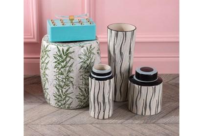 Marvelous Palm Print Garden Stool Ncnpc Chair Design For Home Ncnpcorg