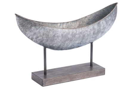 Canoe Table Figurine