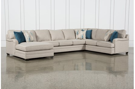 Marissa III 3 Piece Sectional With Left Arm Facing Chaise