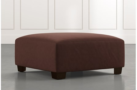 Marissa III Brown Cocktail Ottoman