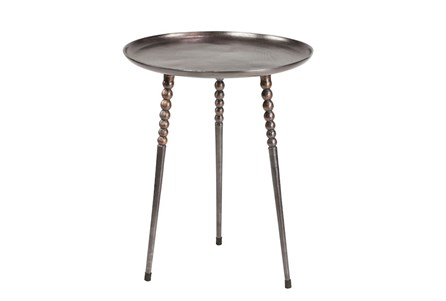 Aluminum 24 Inch Side Table