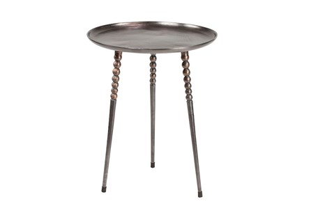 Aluminum 24 Inch Side Table - Main