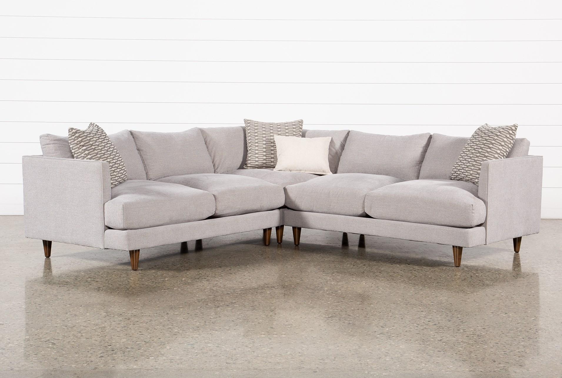 Adeline Ii 3 Piece 109 Sectional, Comfort Living Furniture San Leandro