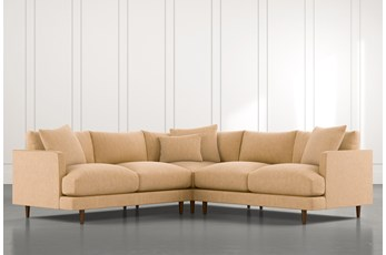 Adeline II Yellow 3 Piece Sectional