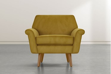 Patterson III Yellow Accent Chair