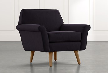 Patterson III Black Accent Chair