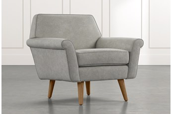 Patterson III Light Grey Accent Chair