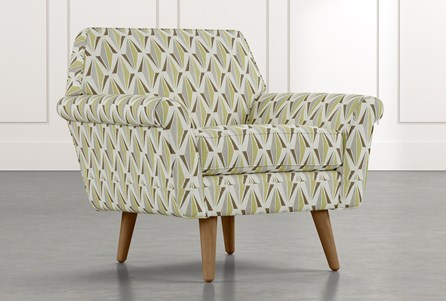 Patterned Accent Chairs Living Spaces, Patterned Living Room Chairs