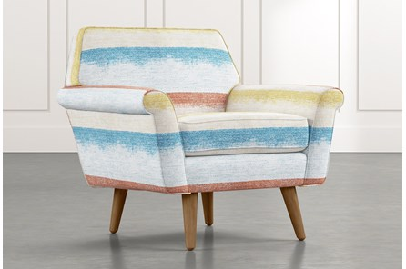 Patterson III Striped Accent Chair