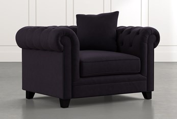 Patterson III Black Arm Chair