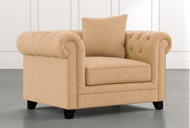 Patterson III Yellow Arm Chair
