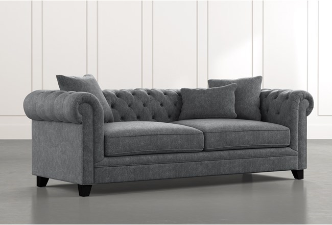 Patterson III Dark Grey Sofa - 360