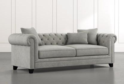 Patterson III Light Grey Sofa
